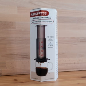 aeropress set in ovp